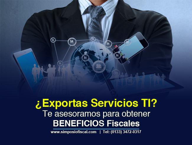 Beneficios fiscales en exportación de servicios tecnológicos